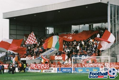 A photo of Tolka Park uploaded by brian1234