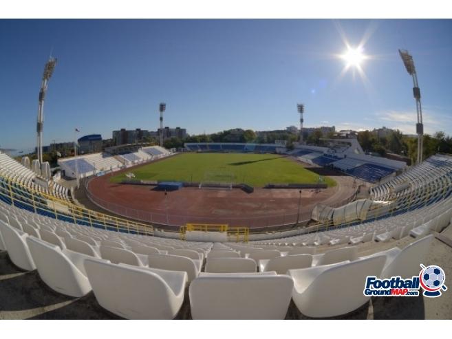 A photo of Tsentralny Stadium uploaded by chornypyos
