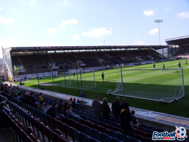 A photo of Turf Moor uploaded by smithybridge-blue