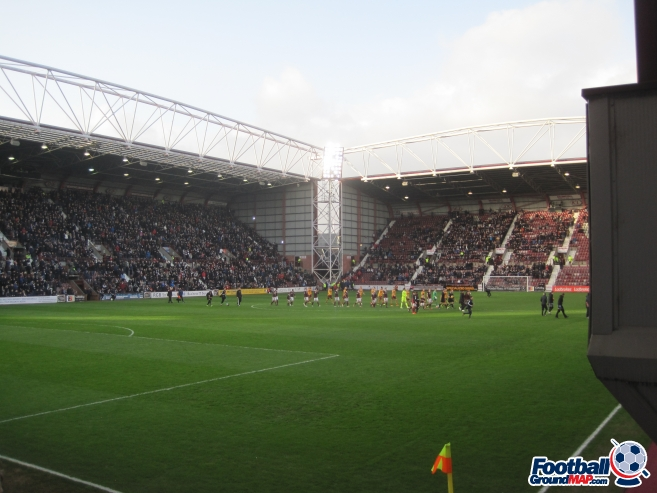 A photo of Tynecastle uploaded by captaindeltic55