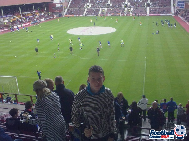 A photo of Tynecastle uploaded by AdiDassler