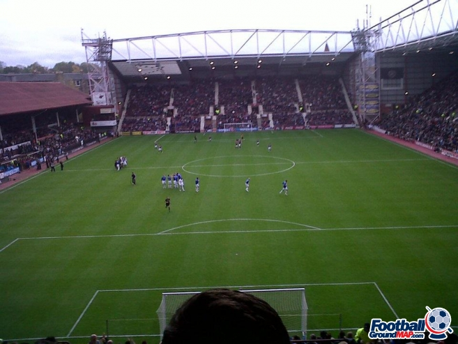 A photo of Tynecastle uploaded by southsidegers