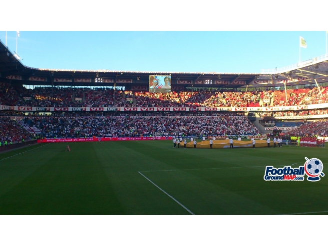 A photo of Ullevaal Stadion uploaded by biscuitman88