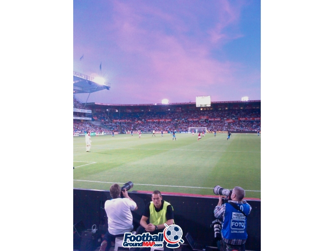 A photo of Ullevaal Stadion uploaded by giorgiopin