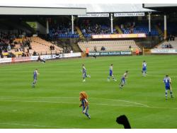 An image of Vale Park uploaded by saintshrew