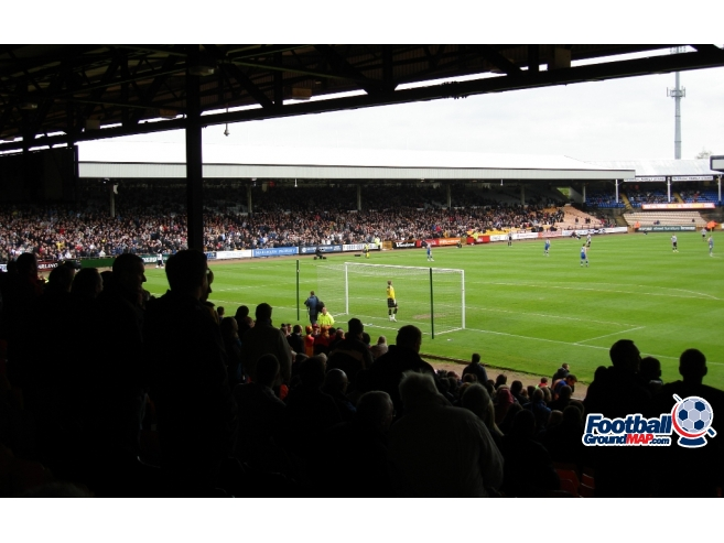 A photo of Vale Park uploaded by saintshrew