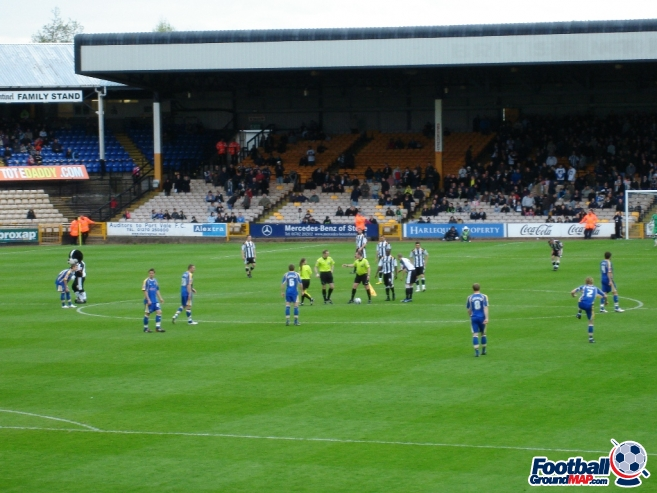 A photo of Vale Park uploaded by saintshrew