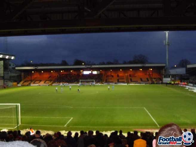 A photo of Vale Park uploaded by smithybridge-blue
