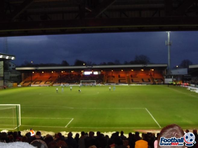 A photo of Vale Park uploaded by smithybridge-blue