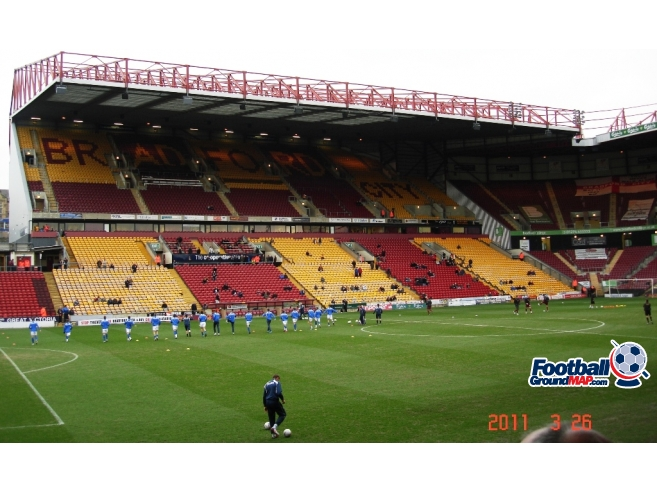 A photo of Valley Parade uploaded by saintshrew