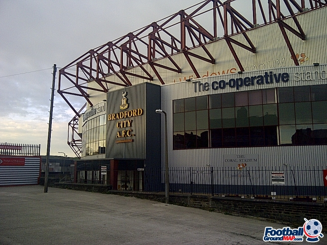 A photo of Valley Parade uploaded by dannyptfc
