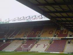 An image of Valley Parade uploaded by ashleyjarnoball