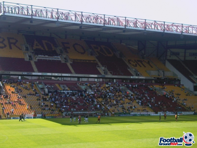 A photo of Valley Parade uploaded by ashleyjarnoball