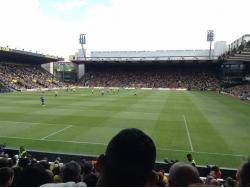 An image of Vicarage Road uploaded by hi5ilo