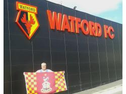 An image of Vicarage Road uploaded by joesue