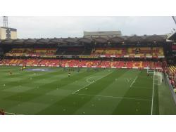 An image of Vicarage Road uploaded by alexcraiggroundhop