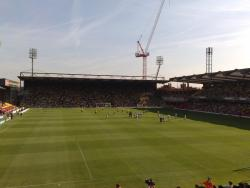 An image of Vicarage Road uploaded by jonbratt