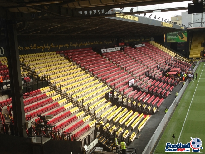 A photo of Vicarage Road uploaded by bha52