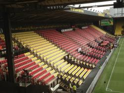An image of Vicarage Road uploaded by bha52