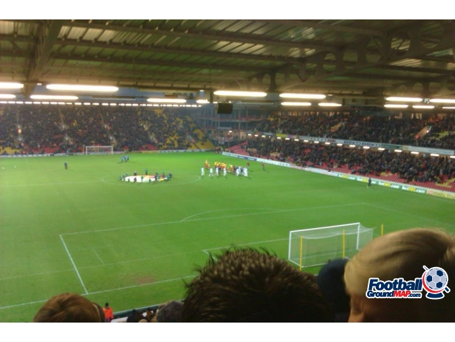 A photo of Vicarage Road uploaded by peter-tucker