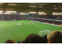 An image of Vicarage Road uploaded by peter-tucker