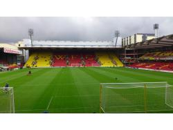 An image of Vicarage Road uploaded by ccfc4life