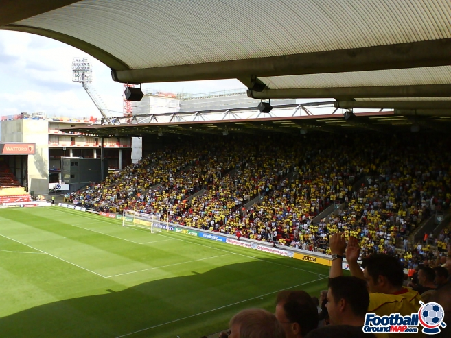 A photo of Vicarage Road uploaded by facebook-user-85885