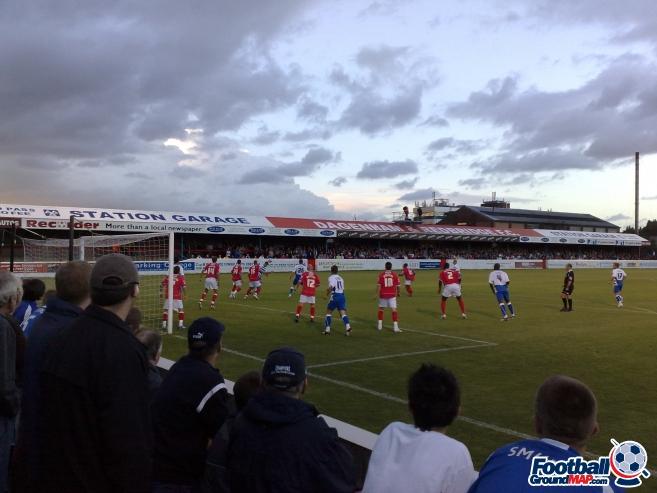 A photo of Victoria Road (Chigwell Construction Stadium) uploaded by jonbratt