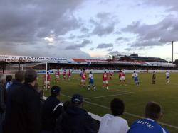 An image of Victoria Road (Chigwell Construction Stadium) uploaded by jonbratt