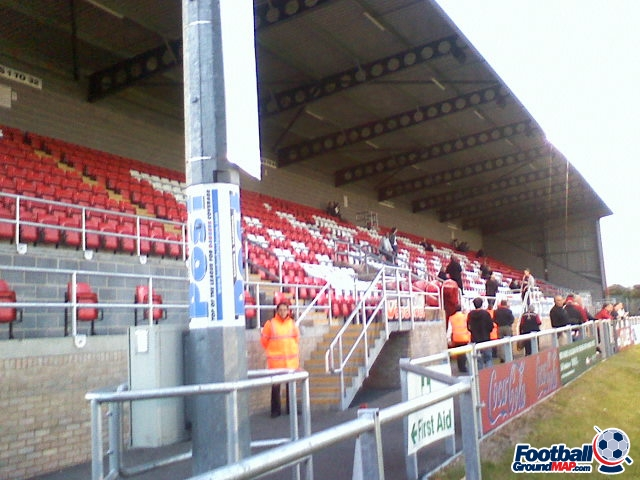A photo of Victoria Road (Chigwell Construction Stadium) uploaded by facebook-user-90348
