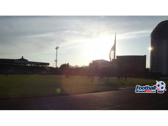 A photo of Victory Stadium uploaded by davielaird