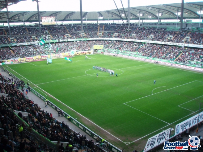 A photo of Volkswagen Arena uploaded by Biff10