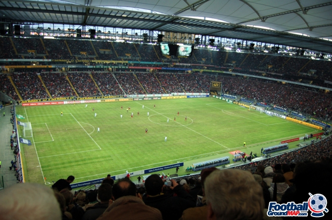 A photo of Waldstadion (Commerzbank Arena) uploaded by newrynyuk