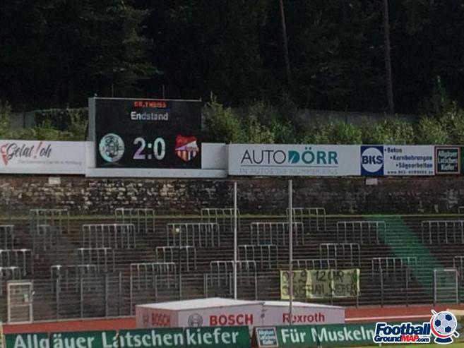 A photo of Waldstadion uploaded by foxyusa