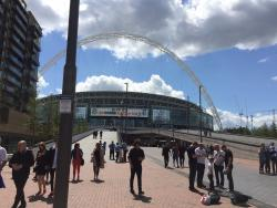 An image of Wembley Stadium uploaded by neal
