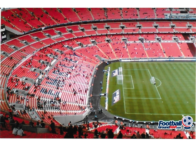A photo of Wembley Stadium uploaded by rampage