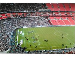 An image of Wembley Stadium uploaded by rampage