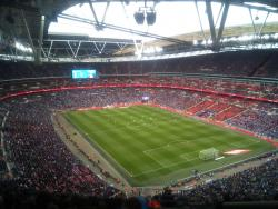 An image of Wembley Stadium uploaded by covboyontour1987