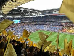 An image of Wembley Stadium uploaded by shift