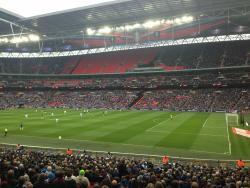An image of Wembley Stadium uploaded by bha52