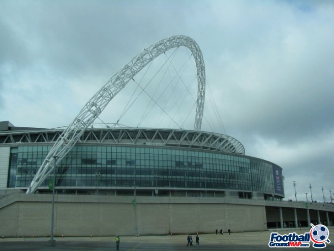 A photo of Wembley Stadium uploaded by facebook-user-99014