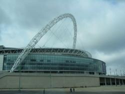 An image of Wembley Stadium uploaded by facebook-user-99014