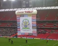 An image of Wembley Stadium uploaded by steve-scfc