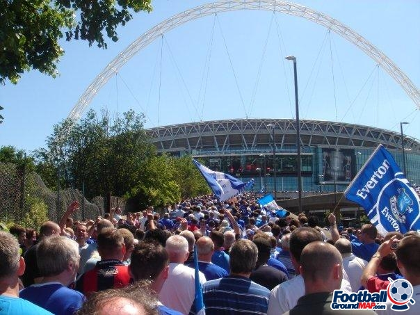 A photo of Wembley Stadium uploaded by facebook-user-79569