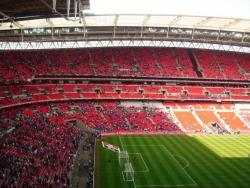 An image of Wembley Stadium uploaded by facebook-user-79569