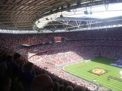 An image of Wembley Stadium uploaded by facebook-user-55935
