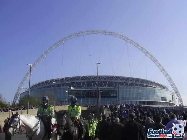 A photo of Wembley Stadium uploaded by facebook-user-55935