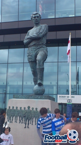 A photo of Wembley Stadium uploaded by facebook-user-46612