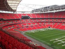 An image of Wembley Stadium uploaded by facebook-user-100186