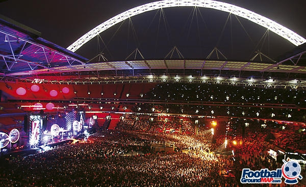 A photo of Wembley Stadium uploaded by facebook-user-84896